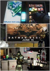 Publicité dans le jeu Splinter Cell